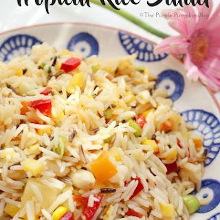Tropical Rice Salad Recipe