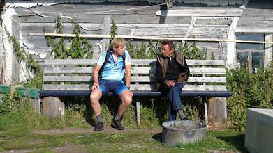 Photo: Беседа с местными