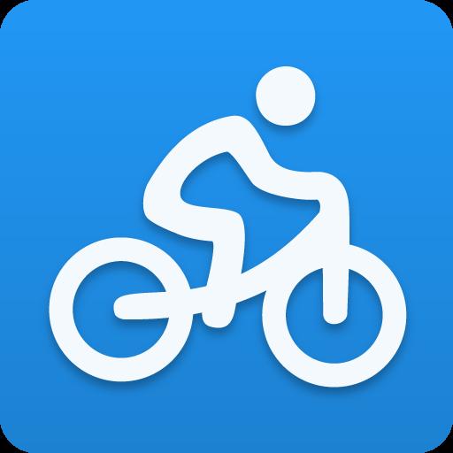 サイクリングを実行しているスポーツトラッカー 健康 LOGO-玩APPs