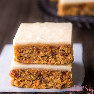 Quick and Easy Raw Carrot Cake Recipe