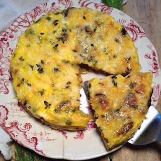 Curried Mushrooms Frittata Recipe