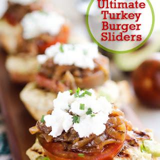 Ultimate Turkey Burger Sliders.