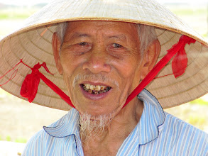 Photo: Day 360  -  Lovely Old Man (Vietnam)