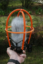 """Photo: NT1a fitted in Dead cat. The """"middle"""" orange ring make the frame stronger and...."""