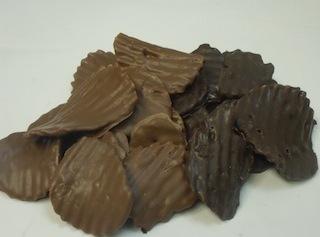 Chocolate Covered Potato Chips Recipe