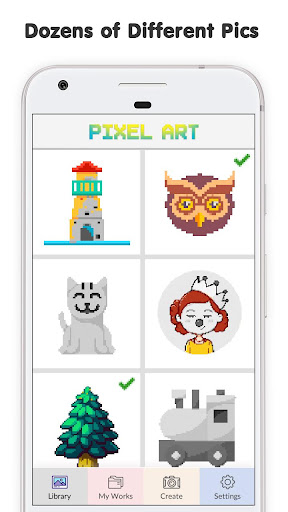 Pixel No.Draw: Color By Number, Art, Coloring Book image   4