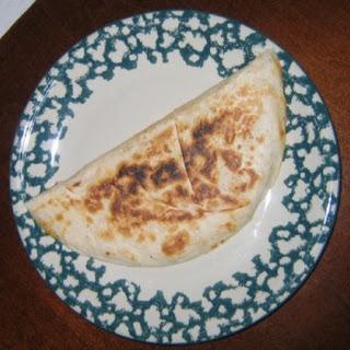 Easy Cheese Quesadillas.