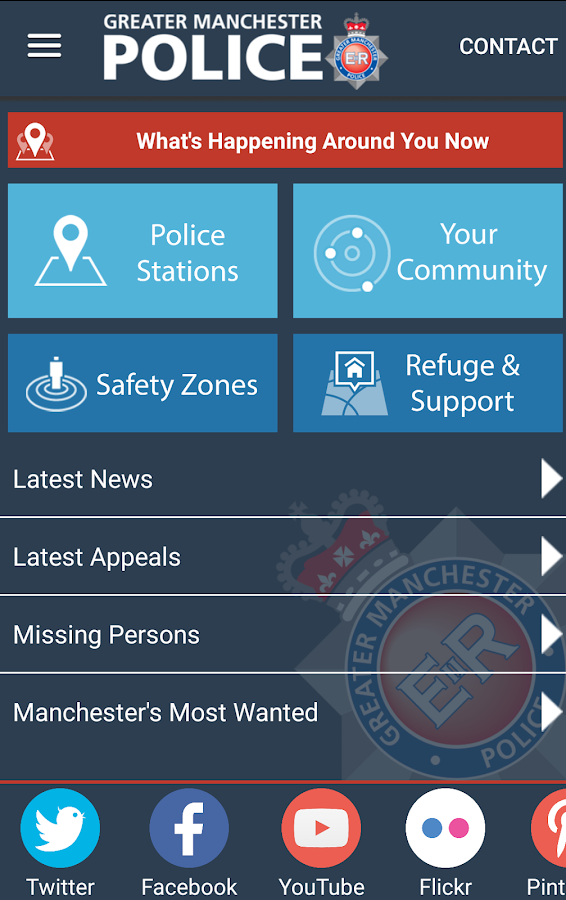 Greater Manchester Police- screenshot