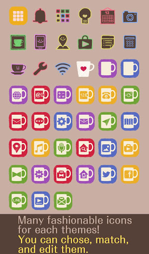 Rainbow Mugs Theme 1.0.0 Windows u7528 4