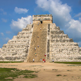 Chichen Itza by Steve Fisher - Buildings & Architecture Public & Historical