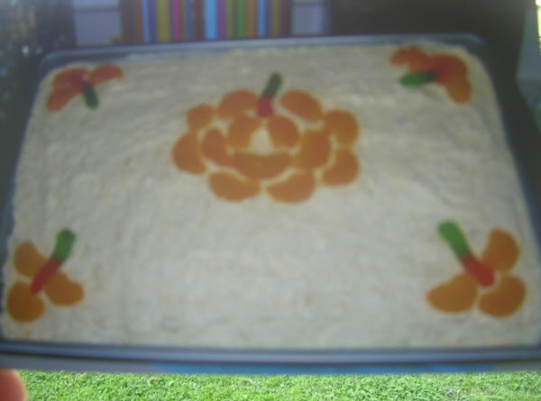 Mandarin Orange Pineapple Cake Recipe