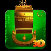 Golden Mecca Kaaba 3D LWP