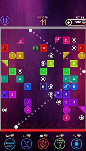 Code Triche Bricks Breaker Ball 2020 apk mod screenshots 2