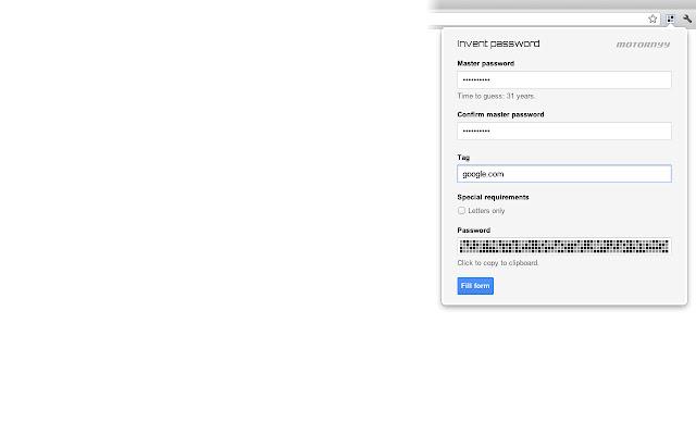 Motornyy Passwords