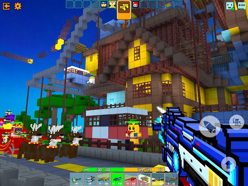 Cops N Robbers - 3D Pixel Craft Gun Shooting Games 9.8.4 Screenshots 10