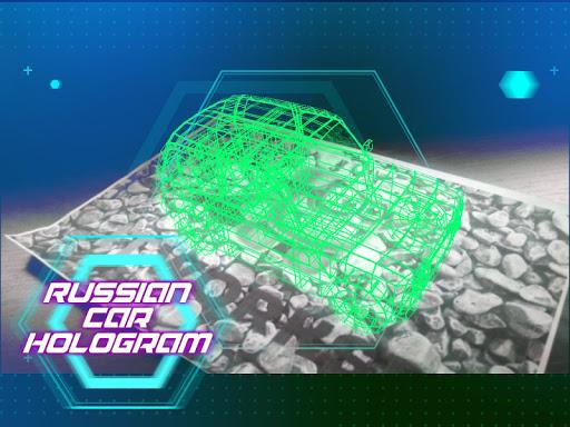 ロシアのカーホログラム|玩模擬App免費|玩APPs