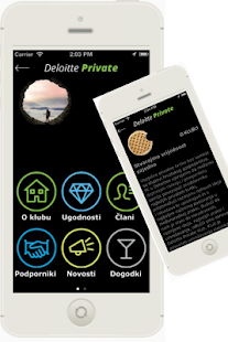 Deloitte Private Club - náhled