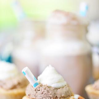 Root Beer Float Cookie Cups