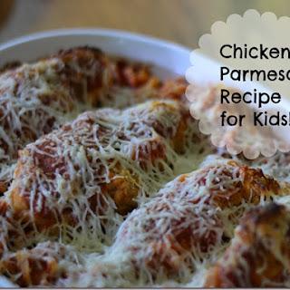 Chicken Parmesan Recipe for Kids with Tyson Crispy Chicken Strips.