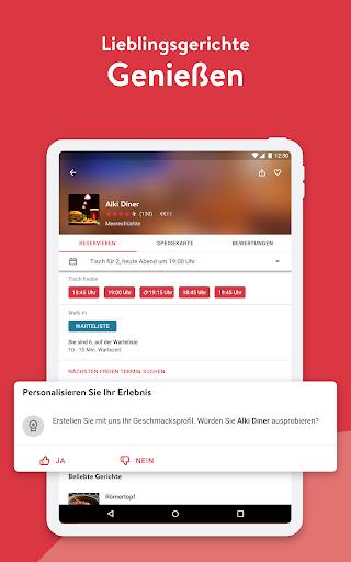 OpenTable - Online Reservieren screenshot 9