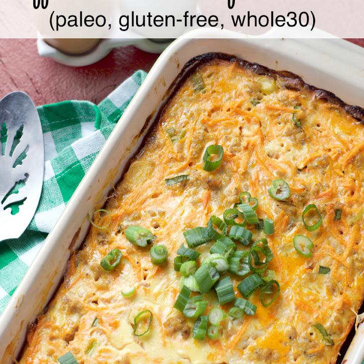 Buffalo Chicken Breakfast Casserole Recipe