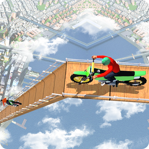 Impossible Tracks: Bike Stunt Moto Racing Game Icon