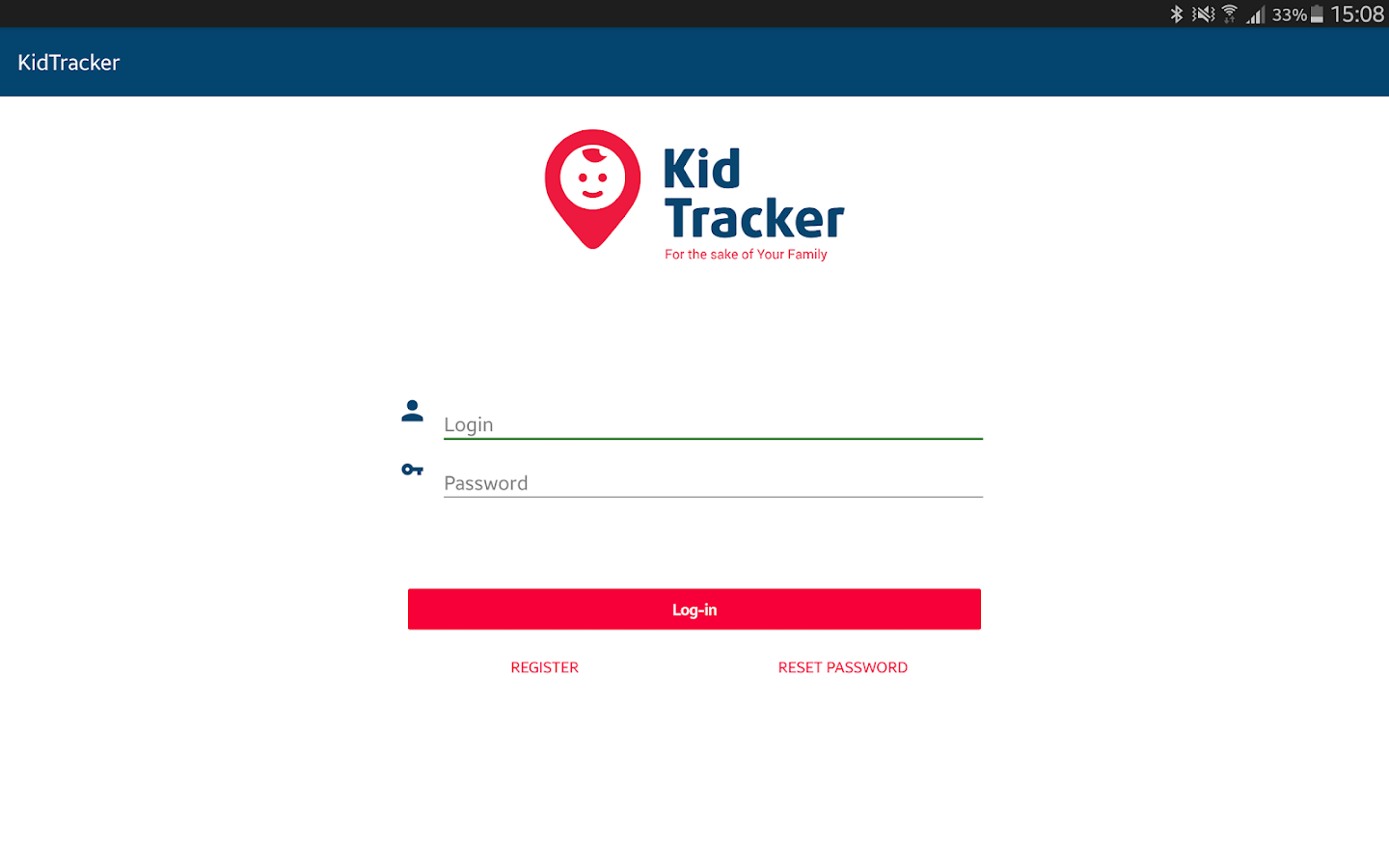 KidTracker Parent- screenshot