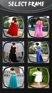 Prom šaty fotografické kamery - náhled