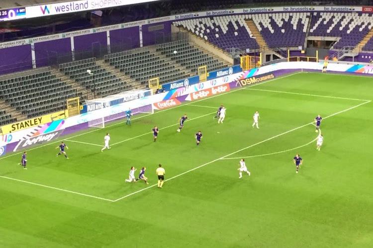 Youth League : le Sporting d'Anderlecht est tenu en échec