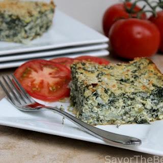 Spinach-Artichoke-Quinoa Casserole.