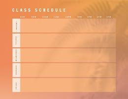 Class Schedule Fern - Class Schedule item