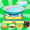 games cooking chocolate girl icon
