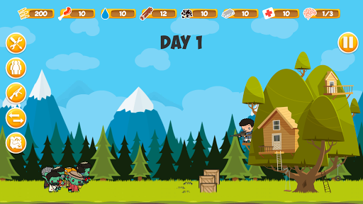 Zombie Forest: Apocalypse Survival apk mod capturas de pantalla 2