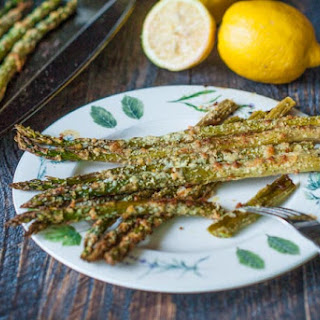 Lemon Parmesan Asparagus Recipe