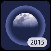 Simple VoC Moon Calendar 2015