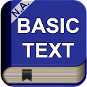 NA Basic Text Audio Book icon