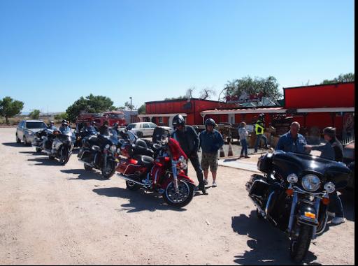 La route 66  et musée Harley