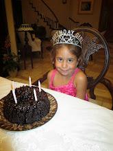 Photo: Kyra's mini birthday party