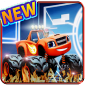 blaze race game and the monster truck