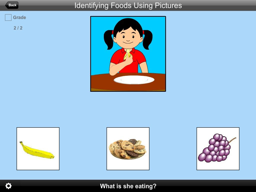 Identifying Foods Using Pictures Lite Version- screenshot
