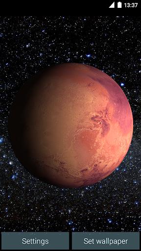 Mars Live Wallpaper screenshot 4