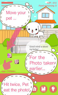 CameraPet - cute camera game- screenshot thumbnail