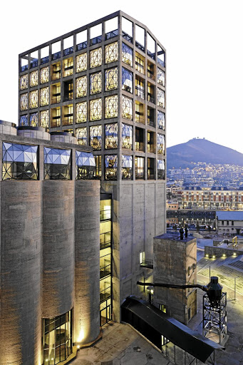 Zeitz Mocaa: completing the V&A Waterfront's silo district. Picture: IWAN BAAN