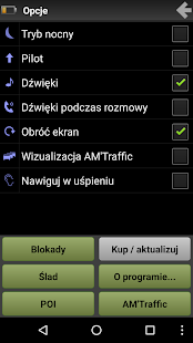 AutoMapa: GPS navigation, radars, traffic, places- screenshot thumbnail
