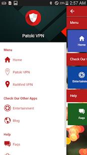 Patoki VPN - náhled