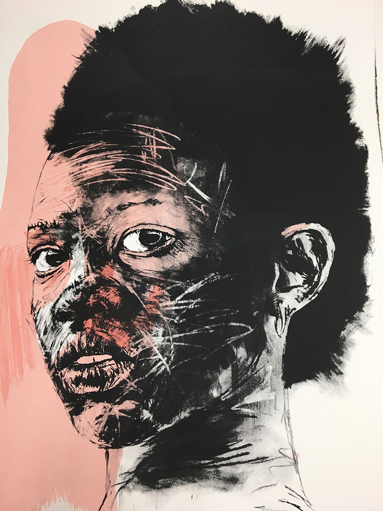 Medium: Screenprint. Price Range: R50 000