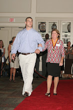 Photo: Hall of Fame Banquet at the University Center Club on September 5, 2008.