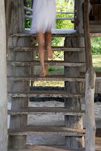 Photo: Driftwood stairs