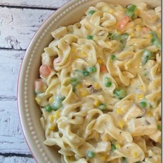 How to Make Chicken Noodle Casserole.