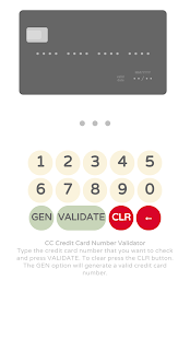 Credit Card Validator with CVV- screenshot thumbnail